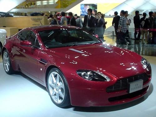 2010 Aston Martin V8 Vantage Base Roadster